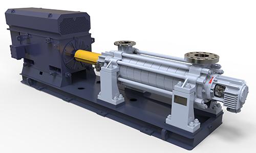 HD4F节段式多级石化流程泵(BB4)