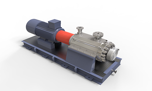 HD5F卧式双壳体多级石化流程泵(BB5)