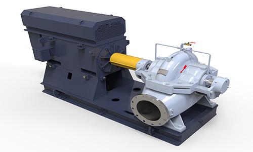 HS水平中开双吸泵(BB1)