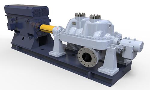 HD3F水平中开多级石化流程泵(BB3)